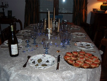 table reveillon